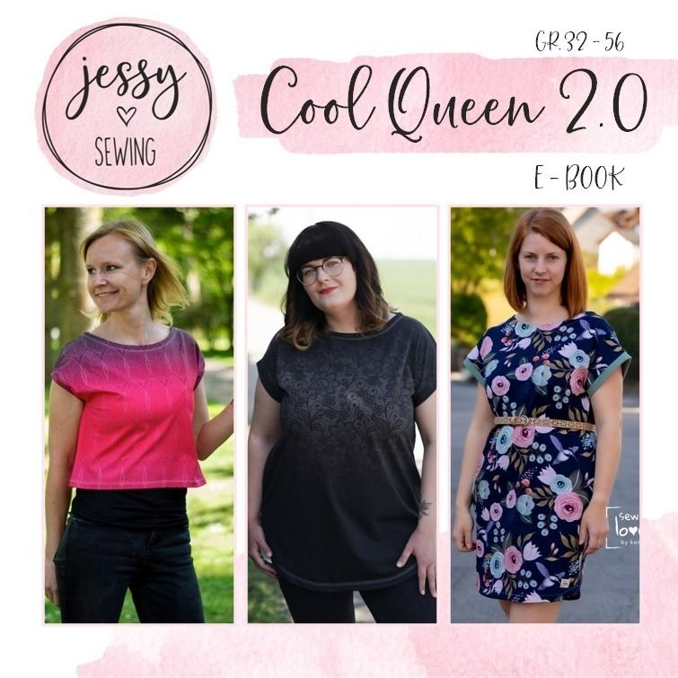 Schnittmuster Pattarina: Cool Queen 2.0 von Jessy Sewing